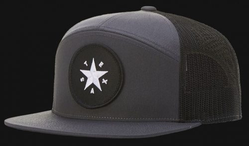 Custom Snapback Hat with a Custom Embroidered Patch by Printology